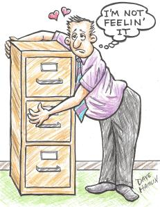 You Can't Hug a File Cabinet